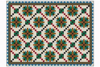 Quilt Pattern Tea Rose Criss Bed Cross