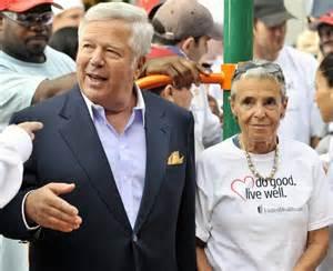 funeral programs wgbh news philanthropist myra kraft of patriots