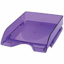 cep pro happy letter tray purple by viking With purple letter tray