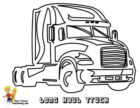 stone cold coloring trucks trucks   wheelers big rigs
