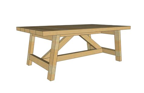 Truss Coffee Table-diy Projects