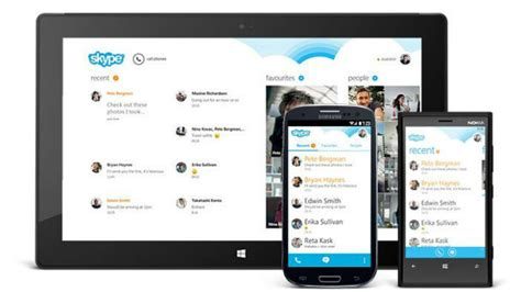 skype for android skype for android celebrates 100m installs with updated