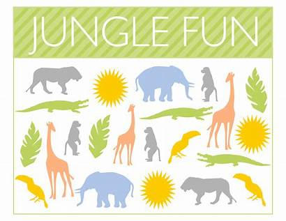 Jungle Printables Party Fun Awesome Posters Check