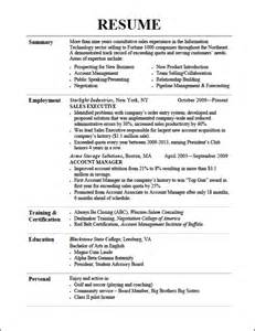 resume format for ojt information technology students should know sle resume information technology