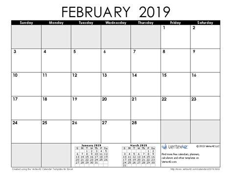 calendar template by vertex42 2019 calendar templates and images