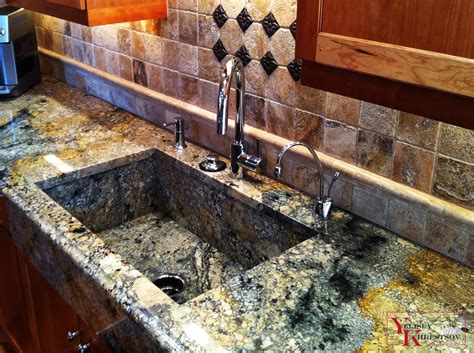 granite countertop with sink granite counter with granite sink project