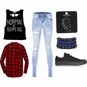 Edgy outfit | Loves ufe0f | Pinterest | Plaid Shirts and Outfit sets