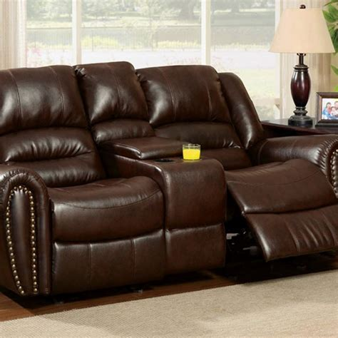dundee love seat wcenter console