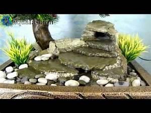 Bonsai 2 1 zimmerbrunnen mit pflanzen youtube for Garten planen mit künstliche bonsai pflanzen