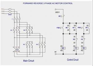 Automation Community  Forward Reverse 3 Phase Ac Motor