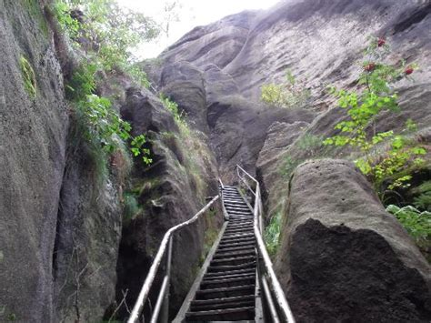 treppe im nationalpark picture  saxon switzerland