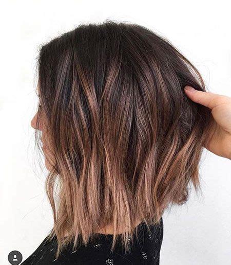 mittellange haare ombre 20 hellbraune bob frisuren frisuren haar ideen balayage kurze haare und braune balayage