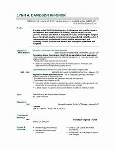 nurse resume samples
