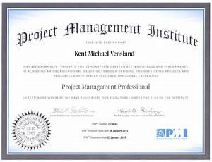 Professional documents kent michael vensland for Pmp certification documents