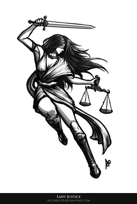 Lady Justice by Accuracy0 on DeviantArt