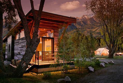 luxury turnkey tiny cabin combines rustic  modern
