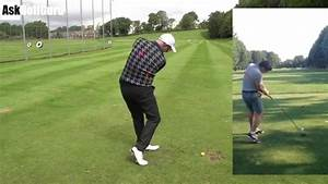 Hit Through The Golf Ball For Better Tee Shots - YouTube
