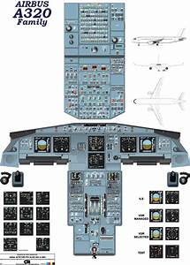 Airbus A320  Ceo V2  U0026 Neo - Lcd  Cockpit Poster