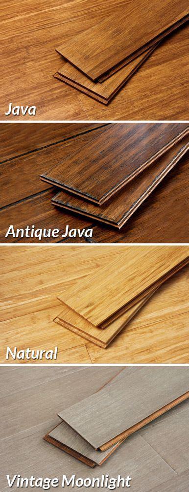 pick  hardwood flooring color bamboo wood