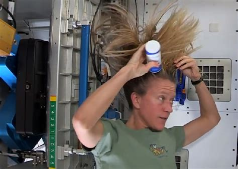 How Do You Wash Your Hair In Space? Nasa Astronaut Karen