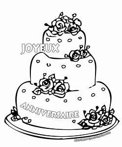 Dessin Gateau D Anniversaire : anniversaire 6 coloriage anniversaire coloriages pour ~ Louise-bijoux.com Idées de Décoration