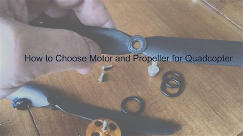 Boat Propeller How To Choose how to choose motor and propeller for quadcopter drones