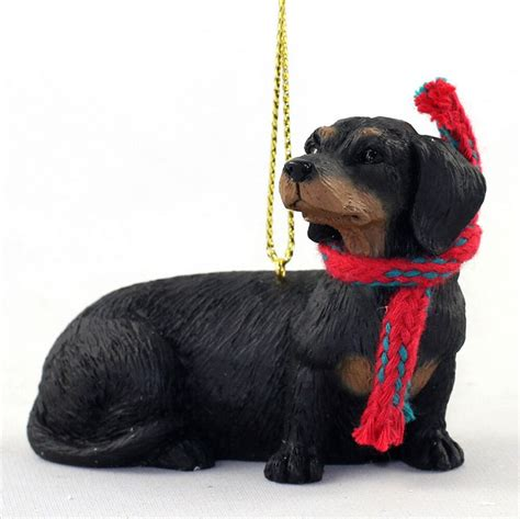 annapolis maryland black dog christmas ornament dachshund ornament scarf figurine black ebay