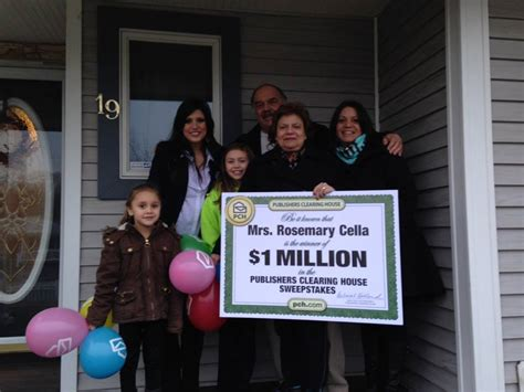 publishers clearing house winner today don t worry if you re not home the prize patrol will