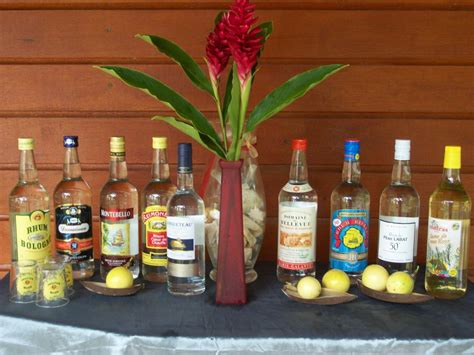 formation cuisine guadeloupe bouteilles rhum guadeloupe d 39 oenologie