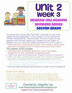 Unit 2  Week 3 Study Guide For Wonders Second Grade