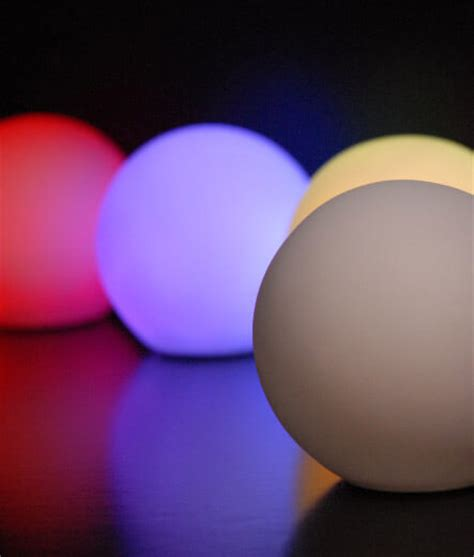 light up orbs for pool led small glowing orbs 3 25in