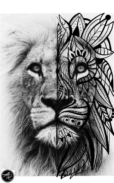 Lion tattoo | Lion head tattoos, Lion tattoo