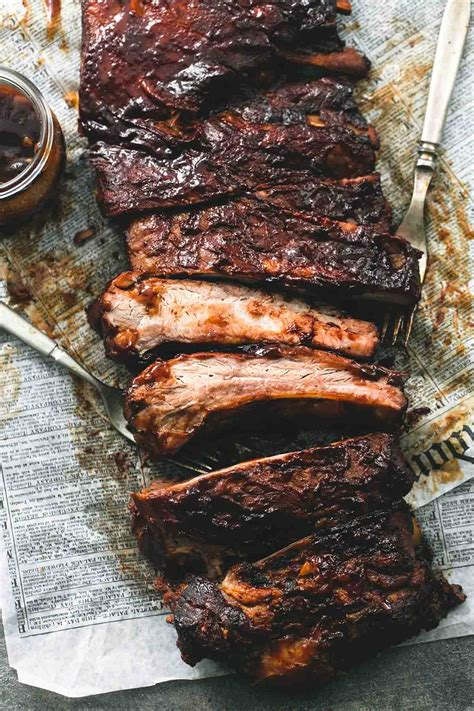 Best Easy Slow Cooker Bbq Ribs  Creme De La Crumb