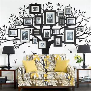 family tree wall decal tree wall decal for picture frames With awesome family tree wall decal with frames