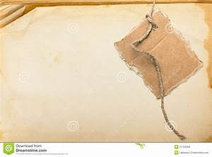 Old Book Page And Cardboard Blank Royalty Free Stock ...