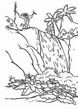 Wasserfall Gambar Coloring Hitam Pemandangan Alam Forest Putih Untuk Malvorlagen Diwarnai Mewarnai Rumah Yang Sketsa Kartun Dan Ausmalbilder Zum Kostenlos sketch template