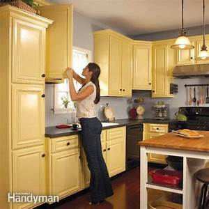how to spray paint kitchen cabinets 2186