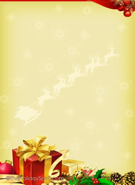 christmas templates for 7 best images of free printable letter templates free printable templates