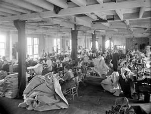 Le travail des femmes dans les manufactures de textile en 1915