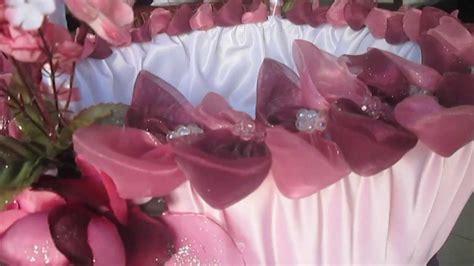 d 233 coration panier mariage le mariage