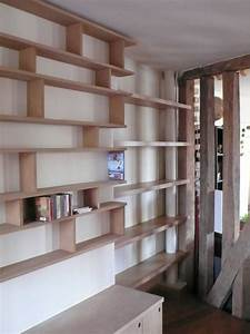 Bibliotheque En MDF Menuiserie Du CheminMenuiserie Du Chemin