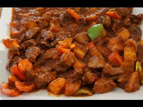 beef mechado recipe   cook great food asian filpino