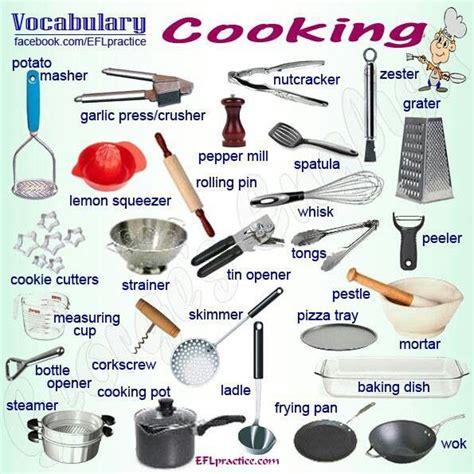 different types of kitchen knives and their uses konyhai eszközök angolul angolkalauz