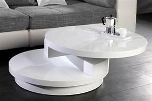 Couchtisch Rund Weiß Hochglanz : design couchtisch layer rund hochglanz lack weiss riess ambiente onlineshop ~ Whattoseeinmadrid.com Haus und Dekorationen