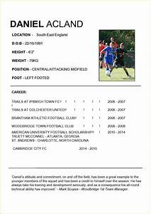 football player cv template19 how to write a policy With football cv templates free