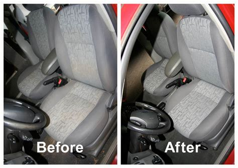 steam clean car seats upholstery cleaning hub