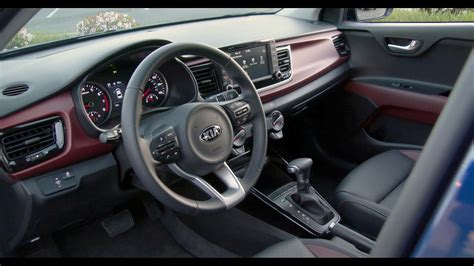 kia rio sedan interior  spec youtube