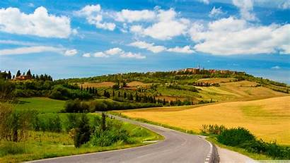 Country Road Wallpapers Desktop 4k Background Uhd