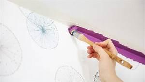 Peindre Sur Papier Peint Relief : comment peindre sur du papier peint peintures de ~ Dailycaller-alerts.com Idées de Décoration