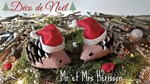 Que Faire Avec Des Pommes De Pin Pour Noel : d coration de no l pommes de pin h rissons youtube ~ Voncanada.com Idées de Décoration
